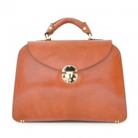 Veneziano Italian Leather Womans Handbag
