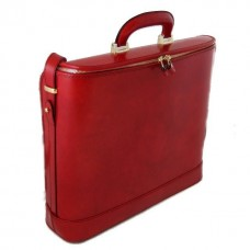 Rafaello Laptop Compatible Genuine Italian Leather Briefcase